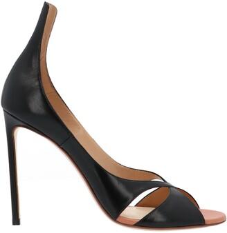 Francesco Russo Crossover Stiletto Sandals