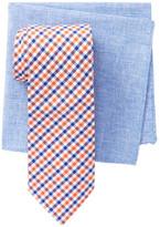 Alara Carnegie Check Tie & Pocket Square Box Set