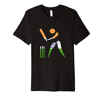 Indian Cricket Jersey With India Flag Tshirt