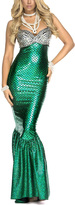 Forplay Green & Silver Under the Sea Costume Set