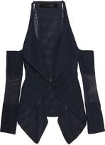 Roland Mouret Brewer cutout open-knit cardigan