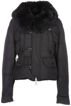 DSQUARED2 Fur Collar Down Jacket