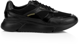 Axel Arigato Genesis Leather Mesh Panel Platform Sneakers