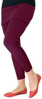 Magid Maroon Skirted Leggings - Plus Too