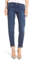 Blank NYC Women's Blanknyc Staggered Hem Crop Jeans