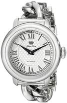 Glam Rock Women's GR77036 Bal Harbour Analog Display Swiss Quartz Silver Watch