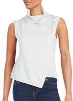 MinkPink Sleeveless Cotton Top