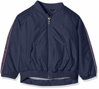 Tommy Hilfiger Girl's Essential Tommy Tape Jacket