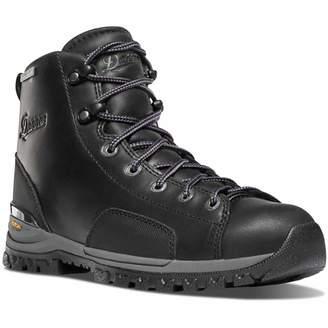 "Danner Women's Stronghold 5"" Construction Boot Black 7 M US"