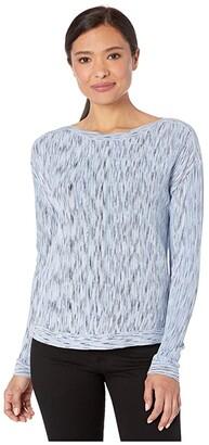 Nic+Zoe Petite Daytrip Sweater (Light Sky) Women's Clothing