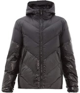 Marcelo Burlon County of Milan Hooded Down Jacket - Mens - Black
