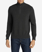 Eddie Bauer Men's Signature Cotton 1/4-Zip Sweater