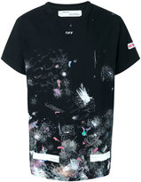 Off-White stain print T-shirt