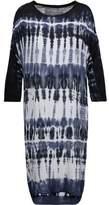 Raquel Allegra Tie-Dyed Stretch-Jersey Dress