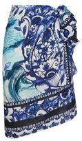 Gottex Sketch Floral Silk Pareo