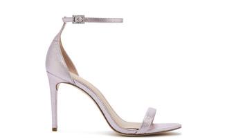 Rachel Zoe Ema Sandstone Metallic Heeled Sandals