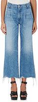 3x1 Women's W4 Shelter Pleated Crop Jeans