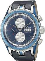Edox Men's 01121 357B BUIN Grand Ocean Analog Display Swiss Automatic Watch