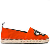 Kenzo K-Patch espadrilles - women - Leather/rubber/Cotton - 36