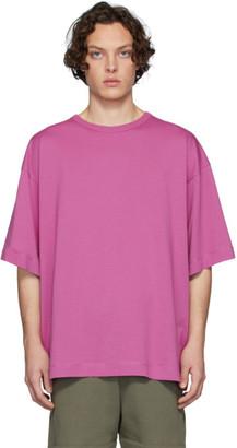 Dries Van Noten Pink Half-Sleeve T-Shirt