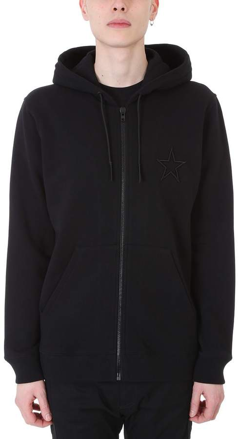 Givenchy Black Cotton Hoodie