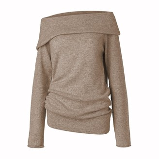 Care By Me - Sif Sweater Dark Sand - Brown / Large