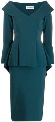 Chiara Boni Le Petite Robe Di Zoya peplum dress