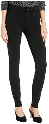 Liverpool Gia Glider/Revolutionary New Skinny Pull-On Knit Super Stretch Ponte Pants (Black) Women's Casual Pants