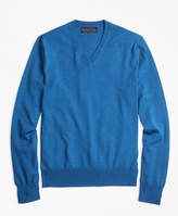 Brooks Brothers BrooksTechTM Merino Wool V-Neck Sweater