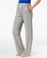 Lucky Brand Embroidery-Trimmed Pajama Pants