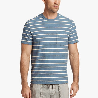 James Perse Vintage Stripe Pocket Tee