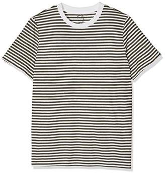 Selected Women's SFMY Perfect SS TEE - Box Cut-STRI. NOOS T-Shirt,(Size: M)