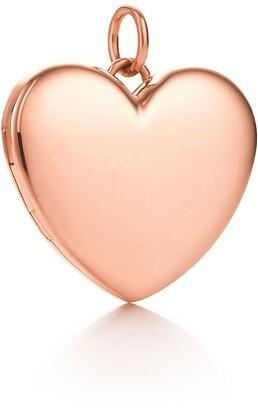 Tiffany & Co. Heart locket in 18k rose gold, large