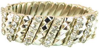 One Kings Lane Vintage 1950s Crystal Expansion Bracelet - Neil Zevnik