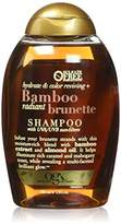 OGX Hydrate & Color Reviving + Bamboo Radiant Brunette Shampoo 13 Ounce