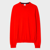 Paul Smith Men's Red Cashmere Sweater
