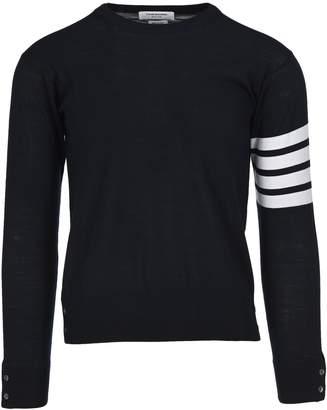 Thom Browne Striped Sleeve Merino Jumper