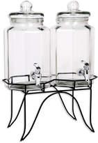 Home Essentials Twin Gallon Beverage Dispenser