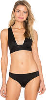 Rachel Comey Allee Bikini Top in Black