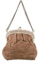 Marni Textured Leather Shoulder Bag