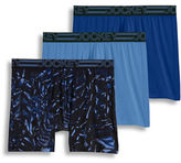 Jockey 3-Pack Active Microfiber Midway Boxer Briefs