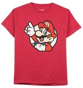 Nintendo Boys' Super Mario Bros. Graphic T-Shirt - Red