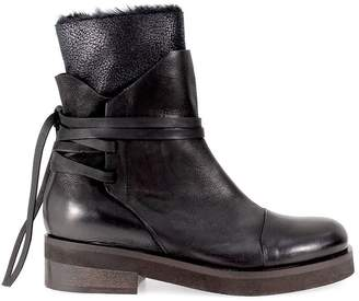 Ixos Black Leather Laces Boot