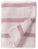 Starting Out Baby Girls Tonal Striped Chenille Blanket