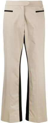 Palm Angels Straight-Leg Panelled Trousers