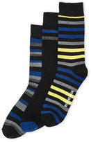 Ben Sherman 3-Pack Stripe Crew Socks
