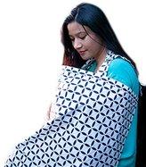 Darlings World - Breast Feeding Nursing Cover. 100% Breathable Cotton. Lifetime Warranty