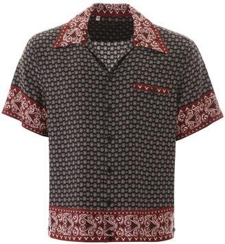 Dolce & Gabbana Bandana Print Hawaii Shirt