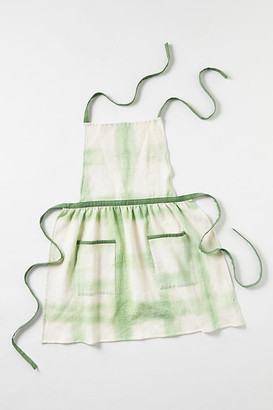 Anthropologie Amie Tie-Dye Apron By in Brown Size ADULT