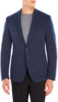 English Laundry Navy Two-Button Blazer